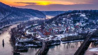 picture of Harpers Ferry, West Virginia