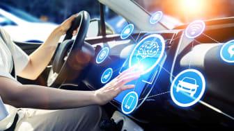 High-tech automotive display