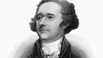 Very rare, beautifully detailed full length engraved portrait of Alexander Hamilton Historical Engraving, Published in 1872. Image also include his signature. Original edition from my own arc