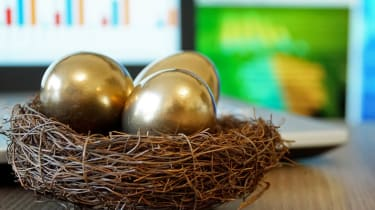 Golden Eggs. Making Money and Successful Investment.