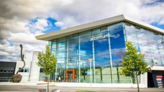 Modern Accenture building