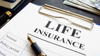 Concept art of life insurance
