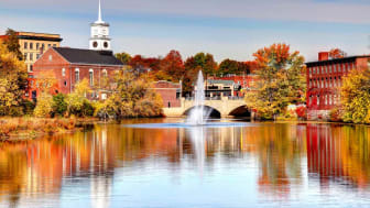 picture of New Hampshire small town