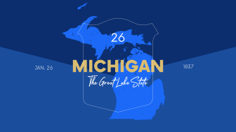 picture of Michigan with state nickname