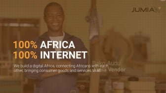 Jumia Technologies webpage