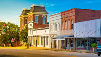 picture of Alabama small town