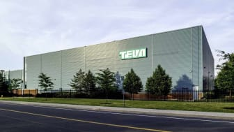 Markham, Ontario, Canada - June 29, 2018: Teva Canada Markham manufacturing facility. Teva Pharmaceutical Industries Ltd. is an Israeli multinational pharmaceutical company.