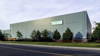 Markham, Ontario, Canada - June 29, 2018: Teva Canada Markham manufacturing facility. Teva Pharmaceutical Industries Ltd. is an Israeli multinational pharmaceutical company.