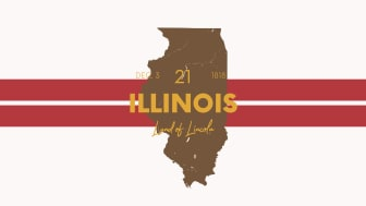 picture of Illinois with state nickname
