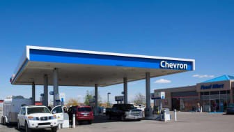 Chevron gas station in Arizona
