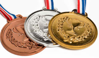 Picture of Olympic medals