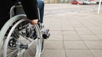 Photo of person in wheelchair