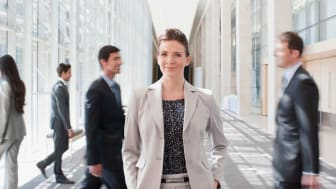 A female financial planner.
