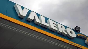 A Valero station sign