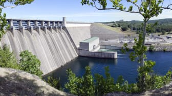 hydroelectric dam and power facility in Missouri