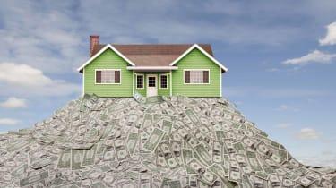 photo illustration money home