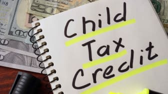 Picture of Child Tax Credit Written in Black Color