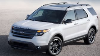 The 2014 Ford Explorer Sport high-performance full-size SUV delivers outstanding power and fuel efficiency through its 3.5-liter EcoBoost¨ V6 engine. The performance feel is heightened by pad