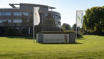 Bergschenhoek, The Netherlands - October 16, 2016: Entrance Monsanto Holland B.V. Bergschenhoek, active in the sector wholesale of grain, unmanufactured tobacco, oil, seeds and animal feed