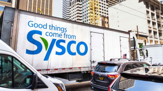 A Sysco truck