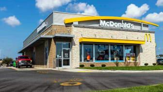 A McDonald's building