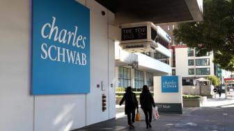 Charles Schwab sign