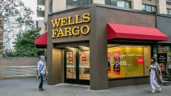 New York, September 28, 2016: A Wells Fargo retail location in Manhattan.