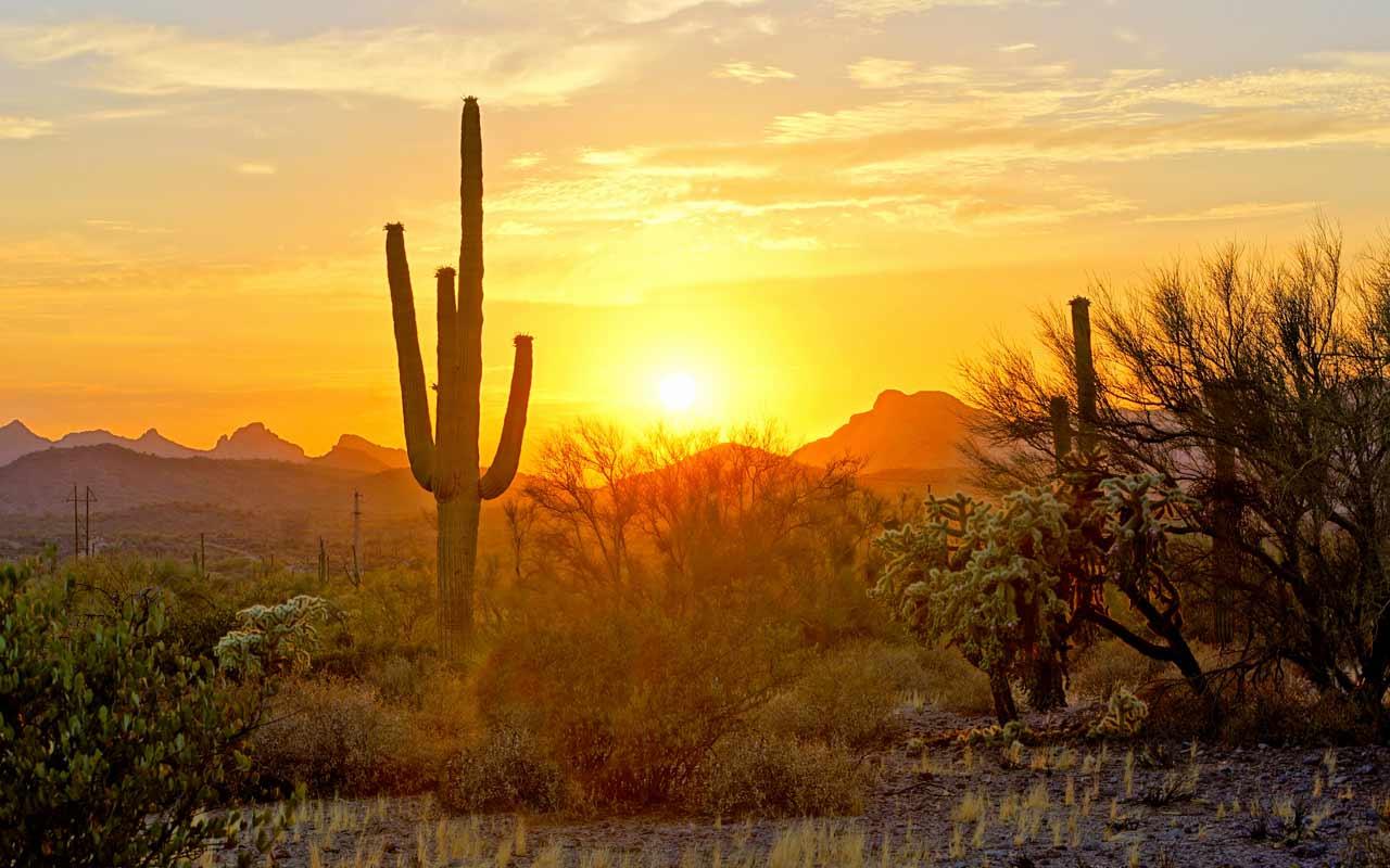 Arizona Trail in Superior - Sunset Magazine
