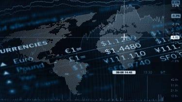 global stock market concept
