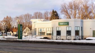 An M&T Bank branch