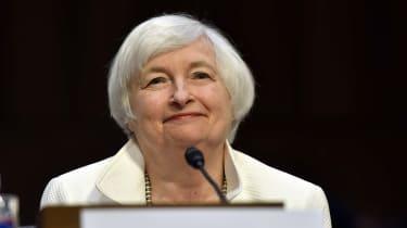 Former U.S. Federal Reserve Chair Janet Yellen