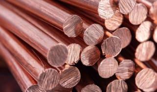 Photo of copper rod