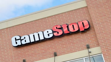 Signage on a GameStop store