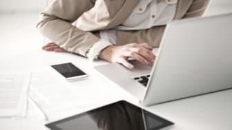 Modern Businesswoman's Desk