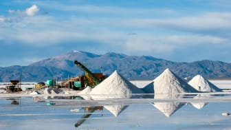Salinas Grandes on Argentina Andes is a salt desert in the Jujuy Province. More significantly, Bolivas Salar de Uyuni is also located in the same region