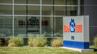 Sunnyvale, California, USA - April 4, 2018: Chinese search engine giant Baidu setup shop in Silicon Valley at 1195 Bordeaux Dr, Sunnyvale, CA 94089. Baidu incorporated in 2000 is estimated to
