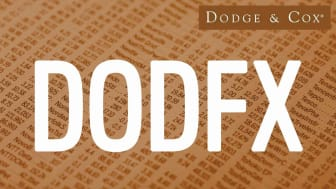 Composite image representing Dodge & Cox's DODFX fund