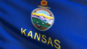 picture of Kansas flag