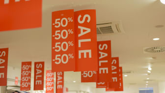 Sales sign -50%