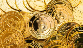 picture of Bitcoin tokens