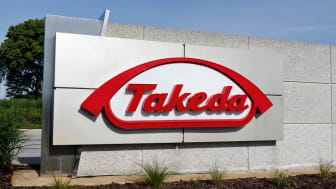 Deerfield - Circa June 2019: Takeda Pharmaceutical Company. Takeda recently acquired Irish drugmaker Shire I