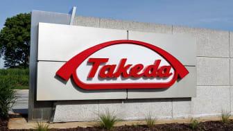 Deerfield - Circa June 2019: Takeda Pharmaceutical Company. Takeda recently acquired Irish drugmaker Shire I