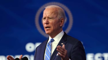 """President-Elect Joe Biden discusses his new COVID-19 stimulus package, the """"American Rescue Plan."""""""