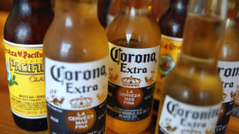 CHICAGO, IL - JUNE 07:In this photo illustration, Corona and Pacifico beer are shown on June 7, 2013 in Chicago, Illinois.Constellation Brands, one of the world's largest wine companies, is e