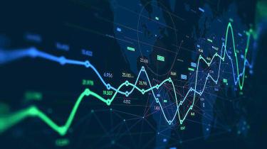 stock market chart concept art