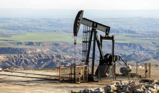 drilling in oil field