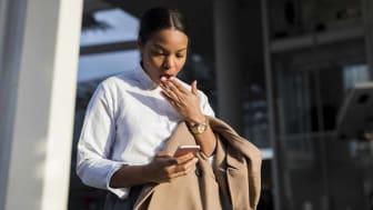 Businesswoman in London