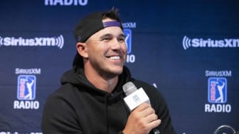 Sirius XM presents a Town Hall with professional golfer Brooks Koepka at Pandora HQ in Oakland, California