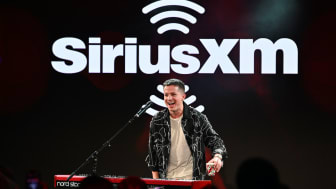 "NEW YORK, NEW YORK - NOVEMBER 13: Charlie Puth performs on stage during SiriusXM's ""Dial Up The Moment"" campaign launch at Penn Plaza Pavilion on November 13, 2019 in New York City.(Photo by"