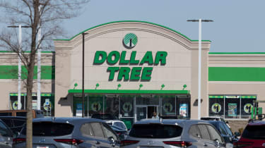 The outside of a Dollar Tree store